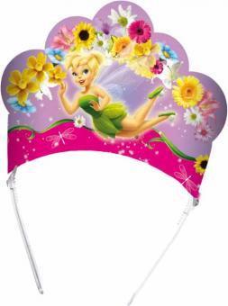 Disney Fairies Krönchen:6 Stück, 16 x 23 cm, bunt