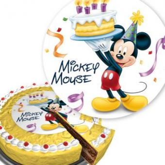Cool Onlineshop Mickey Mouse Cake Topper Kids Birthday Cake Birthday Cards Printable Trancafe Filternl