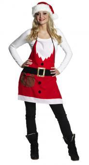 Weihnachtskostüm: Weihnachtsschürze: