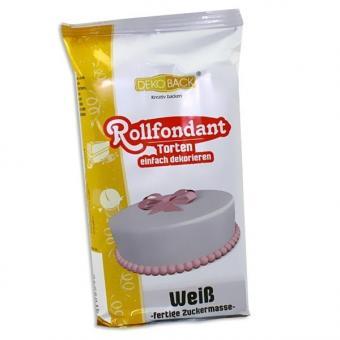 Rollfondant Weiß