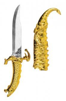 Arabischer Dolch mit Scheide :33 cm