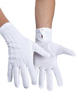 Handschuhe Herren:XL, weiss
