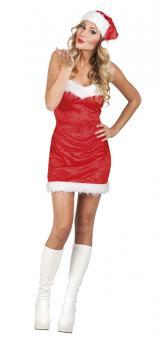 Kostüm Weihnachtslady: