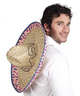 Sombrero Hut :52 cm, natur