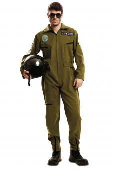 Top Gun Pilotenkostüm:olive