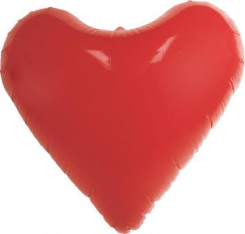 Inflatable heart XL:78x35x68cm, red