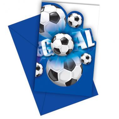 fussball einladungskarten : kindergeburtstag zubehör:6