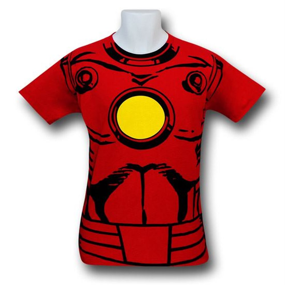 iron man vintage shirt rot