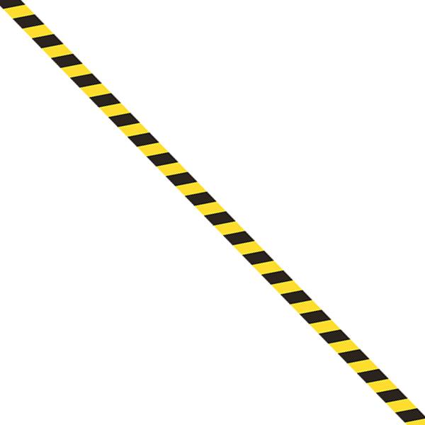 Top Baustelle Absperrband: Kindergeburtstag Zubehör:20 m x 8 cm, gelb FI65