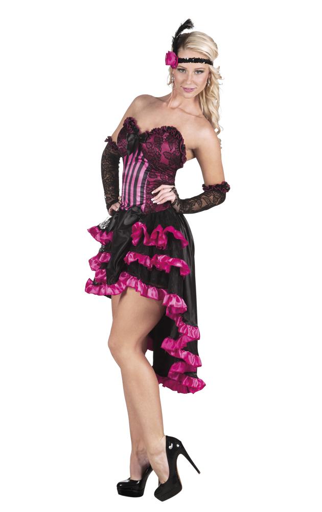 Can Can Saloon pinkSchweizer Kleid KostümWestern Girl n0vwPy8OmN