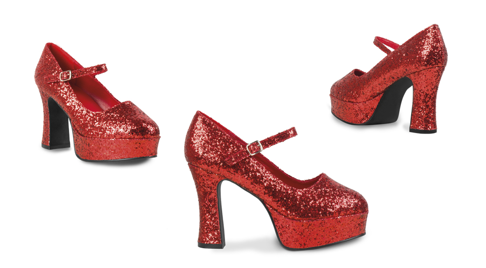 Glitzer Schuhe Glitter Rot Weiss Schweizer Onlineshop Fur Party
