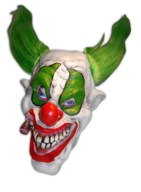 moderate Kosten tolle Passform neue Version Killer Clown Maske bunt