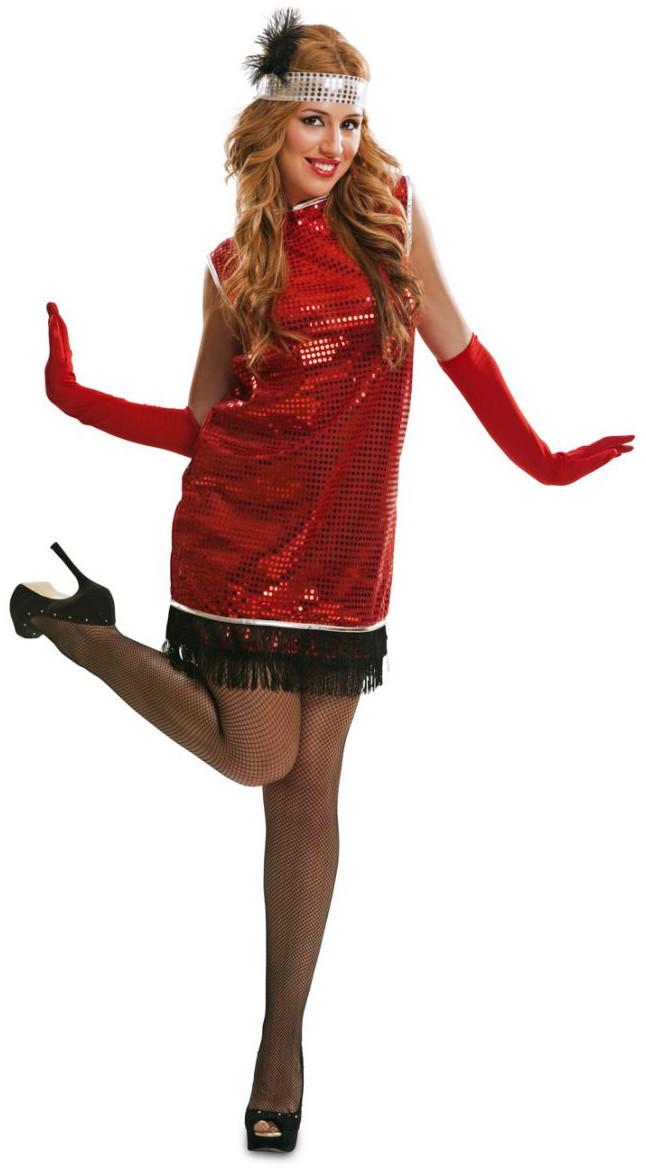 schöner Stil Shop für echte online zu verkaufen Red Charleston 20er Jahre Kleid rot