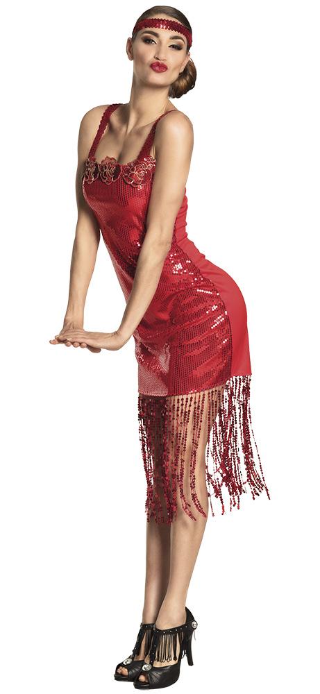 Kleid Jahre Flapper Scarlett20er rotSchweizer Kostüm Onlineshop jc4LqS35AR