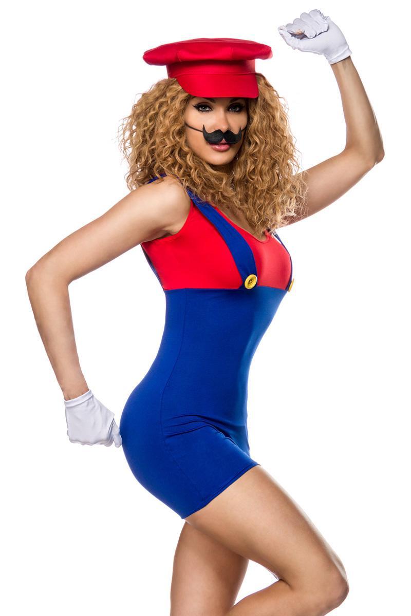 Mario Damen Kostümgrösse Xs M Mehrfarbig Schweizer Onlineshop